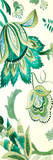 Green Capri Floral I Prints by Lanie Loreth