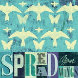 Spread Your Wings Prints by Stella Bradley