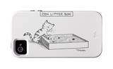 The New Yorker - Zen Litter Box - iPhone 4/4s Cover iPhone 4/4S Case by Pat Byrnes