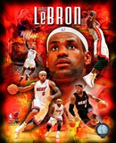 Lebron James 2010 Portrait Plus Photo