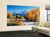 Autumn Landscape Huge Mural Art Print Poster Small Wall Mural