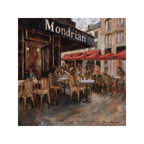 Mondrian Cafe Giclee Print by Noemi Martin