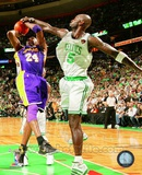 Kevin Garnett Game Five of the 2009-10 NBA Finals Action (12) Photo