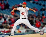 Gio Gonzalez 2013 Action Photo