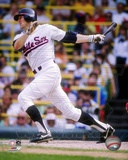 Carlton Fisk - Batting Action (White Sox) Photo