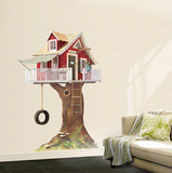 Clubhouse Tree House Wall Decal Wallpaper Mural