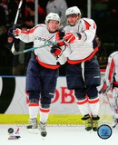Alex Ovechkin & Nicklas Backstrom 2009-10 Action Photo