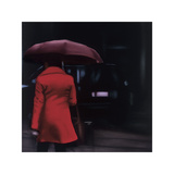 Dame in Rot Giclée-Druck von Xavier Visa