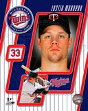 2011 Justin Morneau Studio Plus Photo