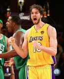 Pau Gasol - 2010 NBA Finals Game 7 (19) Photo
