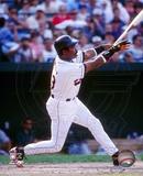 Eddie Murray - 1996 Batting Action Photo