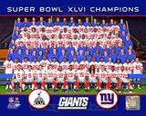 New York Giants Team Photo Super Bowl XLVI Photo