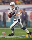 Peyton Manning SuperBowl XLI Action (3) Photo