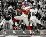 Victor Cruz Touchdown Catch Spotlight Super Bowl XLVI Photo