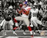 Victor Cruz Touchdown Catch Spotlight Super Bowl XLVI Photo