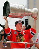 Jonathan Toews Chicago Blackhawks 2010 Stanley Cup Champions Victory Parade (49) Photo