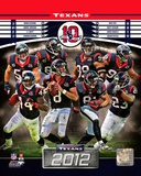Houston Texans 2012 Team Composite Photo