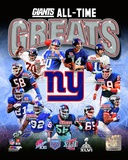 NFL New York Giants All-Time Greats Composite Photo