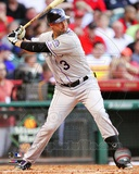 Michael Cuddyer 2012 Action Photo