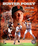 Buster Posey 2010 National League Rookie of the Year Portrait Plus Photo