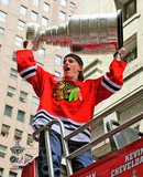 Patrick Kane Chicago Blackhawks 2010 Stanley Cup Champions Victory Parade (50) Photo