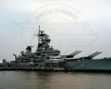 Historical USS New Jersey Battleship 2007 Photo