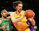 Pau Gasol - 2010 NBA Finals Action Game 6 (17) Photo