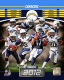 San Diego Chargers 2012 Team Composite Photo