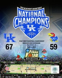 University of Kentucky 2012 NCAA Men's Basketball National Champions Composite Fotografía