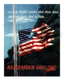 Remember December 7th World War Two Photo
