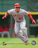 Mike Trout 2013 Action Photo