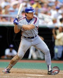 Gary Carter - 1989 Batting Action Photo