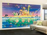 Noah's Sub Large Huge Mural Art Print Poster Wall Mural