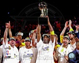 Los Angeles Lakers 2009-10 NBA Finals Team Celebration (22) Photo