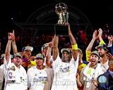 Los Angeles Lakers 2009-10 NBA Finals Team Celebration (22) Photo