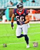 Brian Cushing 2012 Action Photo
