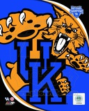 University of Kentucky Wildcats team logo with 2012 NCAA Men's Basketball National Champions Logo Fotografía