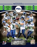 NFL Seattle Seahawks 2012 Team Composite Photo