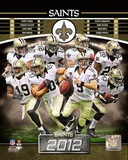 New Orleans Saints 2012 Team Composite Photo