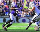 Terrell Suggs 2012 Action Photo