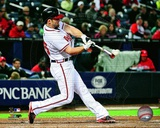 Dan Uggla 2013 Action Photo