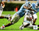 Robert Quinn University of North Carolina Tar Heels 2009 Action Photo