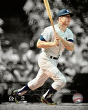 Mickey Mantle Spotlight Action Photo