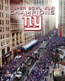 New York Giants Super Bowl XLVI Champions Parade Photo