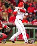 Jay Bruce 2013 Action Photo