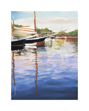 Harbor Reflections Giclee Print by Joanne Parent