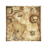 Map of Discovery Giclee Print by Paul Panossian