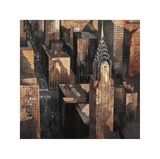 Chrysler Building View Giclee Print by Marti Bofarull