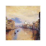 The Grand Canal Giclee Print by Curt Walters
