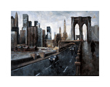 Manhattan Without You Giclee Print by Bofarull Marti